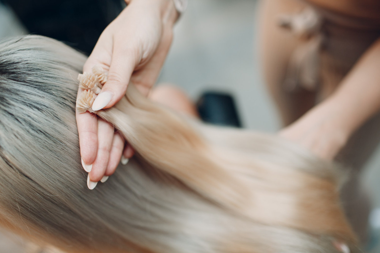 "U-Tip Keratin Bonded Hair Extensions-18"""