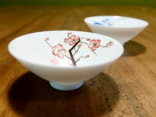 Plum Blossom Tea Cup