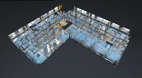 Matterport measured data, 3D modelling and BIM data in Yorkshire, Sheffield, Leeds and Manchester