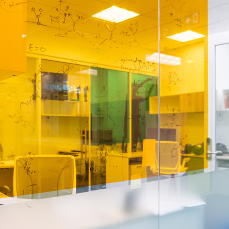 Orange Transparent Colourd Film