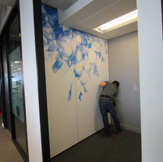 Custom Printed Wall Graphic Film