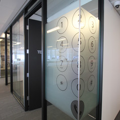 Custom Printed Window Film