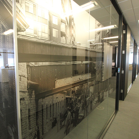 Custom Printed Window Film