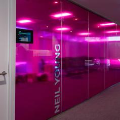 Pink Tranparent Film