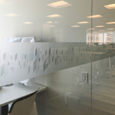 Custom Printed Frosted Film