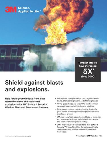 3M Security Film_Bomb Blast 1
