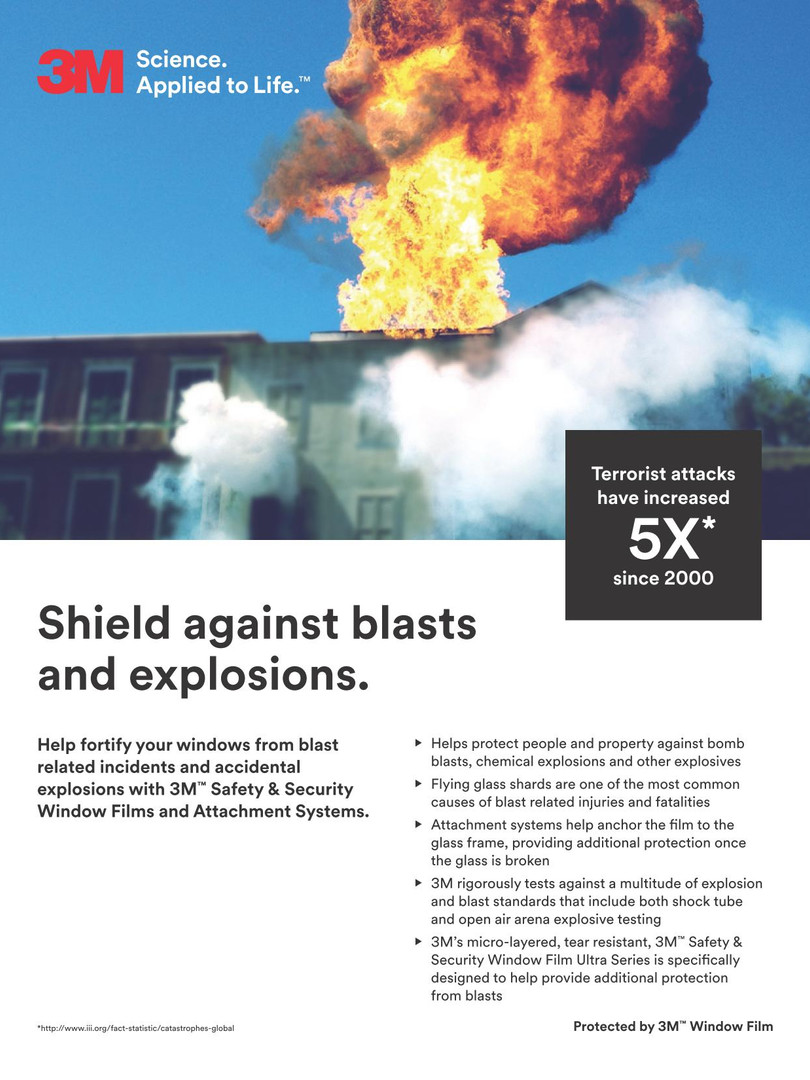 3M Security Film_Bomb Blast 1