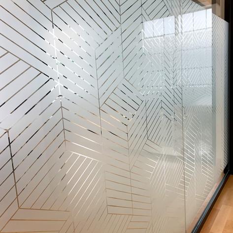 Custom Pattern 3M Dusted Crystal Film