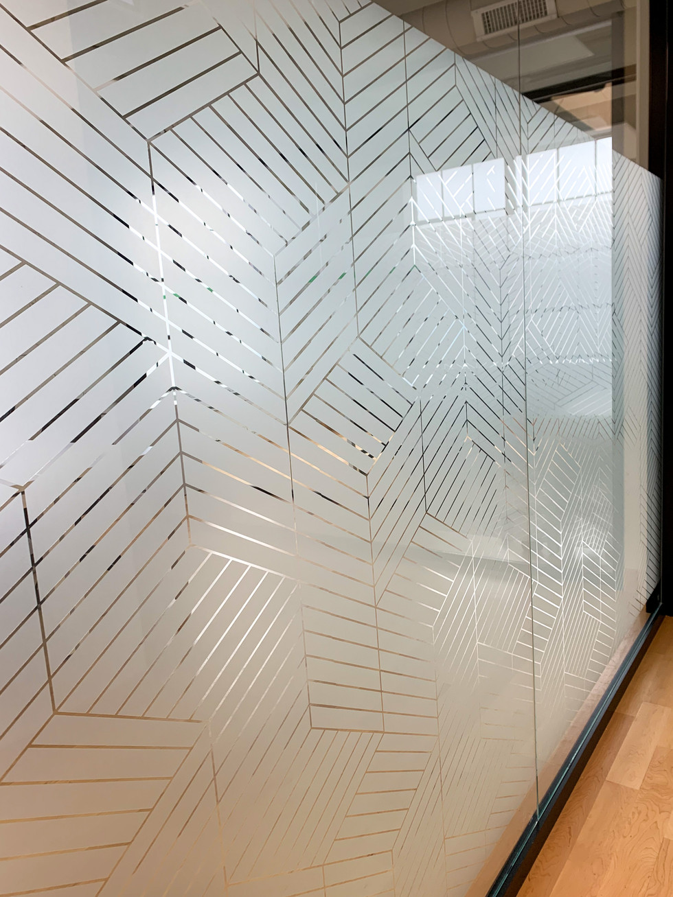 Custom Laser Cut 3M Dusted Crystal Film