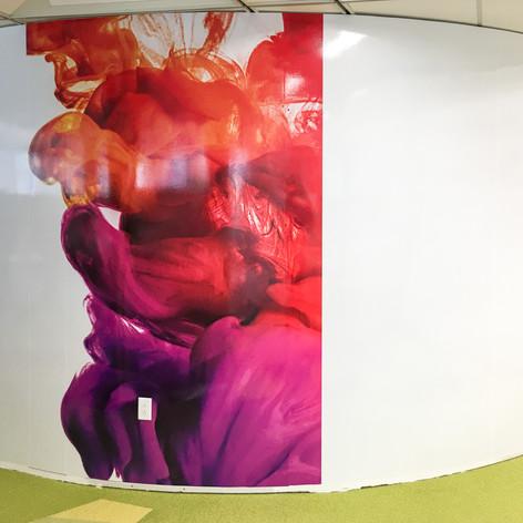 Custom Printed Wall Graphic Film (Writable)