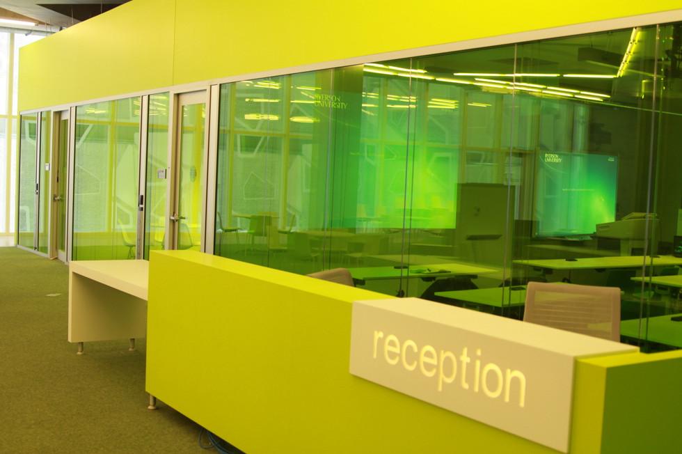 Green Colour Transparent Film