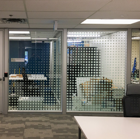 Custom Printed Gradient Window Film