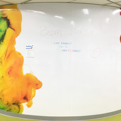 Custom Printed Wall Graphic Film (Writable)