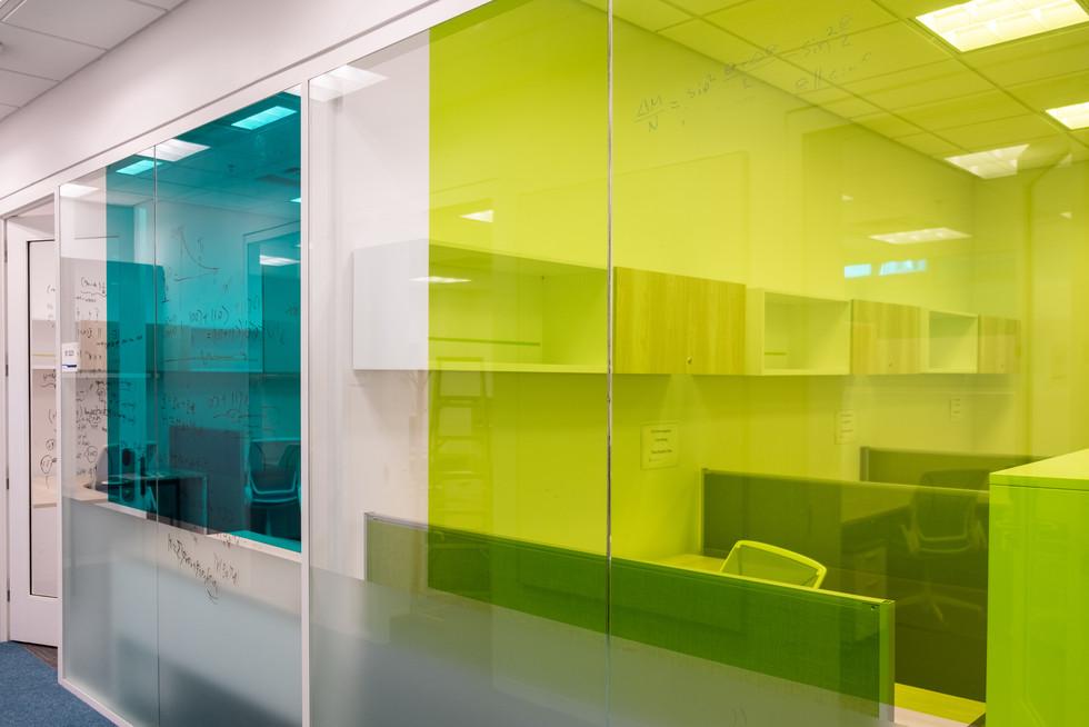 Coloured Transparent Film