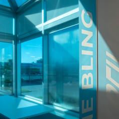 Blue Tranparent Film