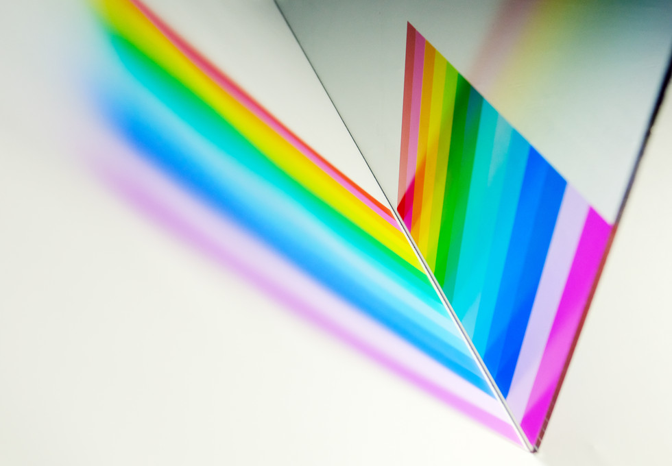 Custom Coloured Transparent Film