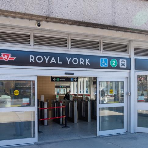 TTC ROYAL YORK STATION