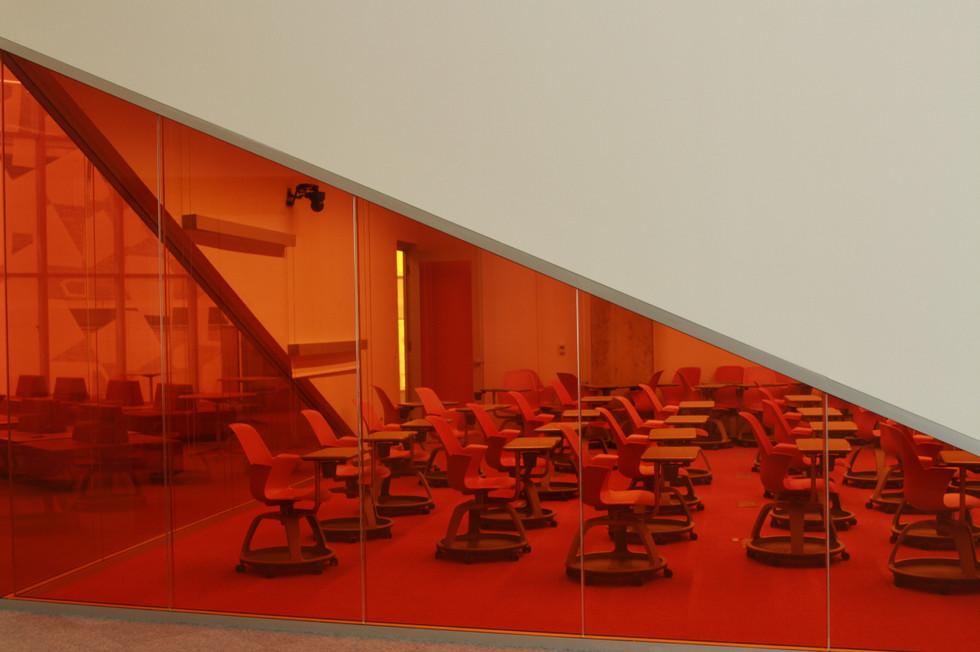 Orange Colour Transparent Film
