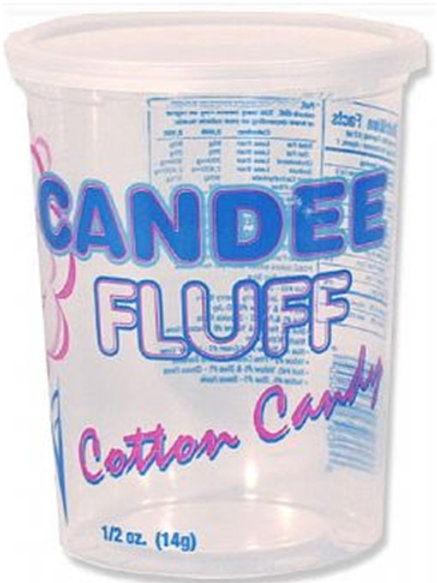 Cotton Candy Fluff Cups