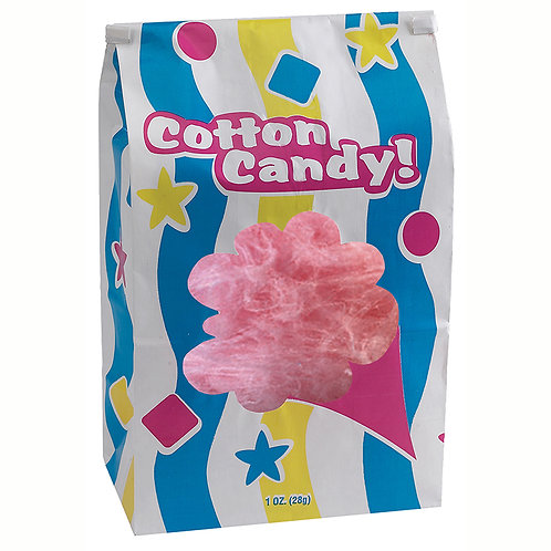 Laminated Cotton Candy Bags