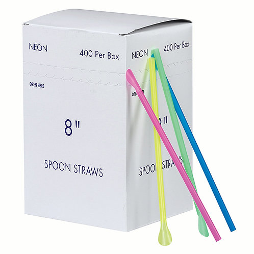 Spoon Straws 8.25""