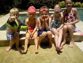 Kids Poolside