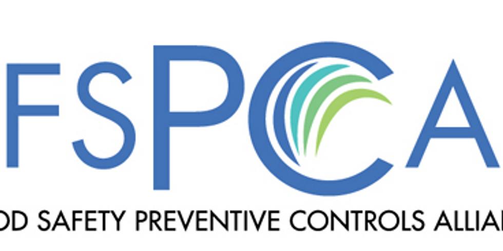FSMA Preventative Controls Qualified Individual (PCQI)