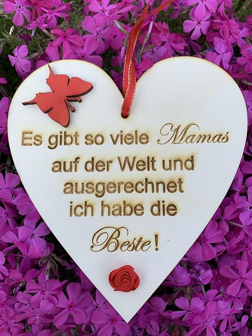 Herzerl für Muttertag Aktion