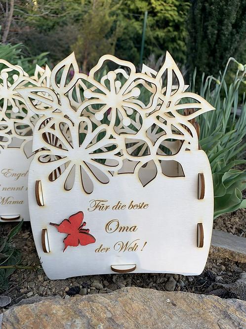 Holzbox für Muttertag