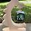 Thumbnail: Weihnachtsbaum aus Zirbe mit personalisierter Weihnachtkugel