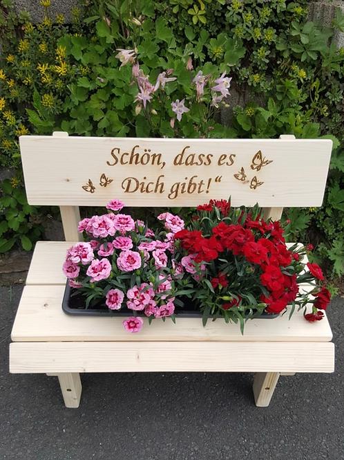 Blumenbank für Muttertag