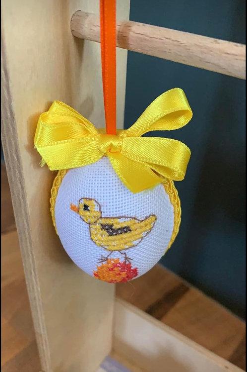Bestickte Eier