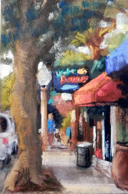 At the Cafe - 4X6
