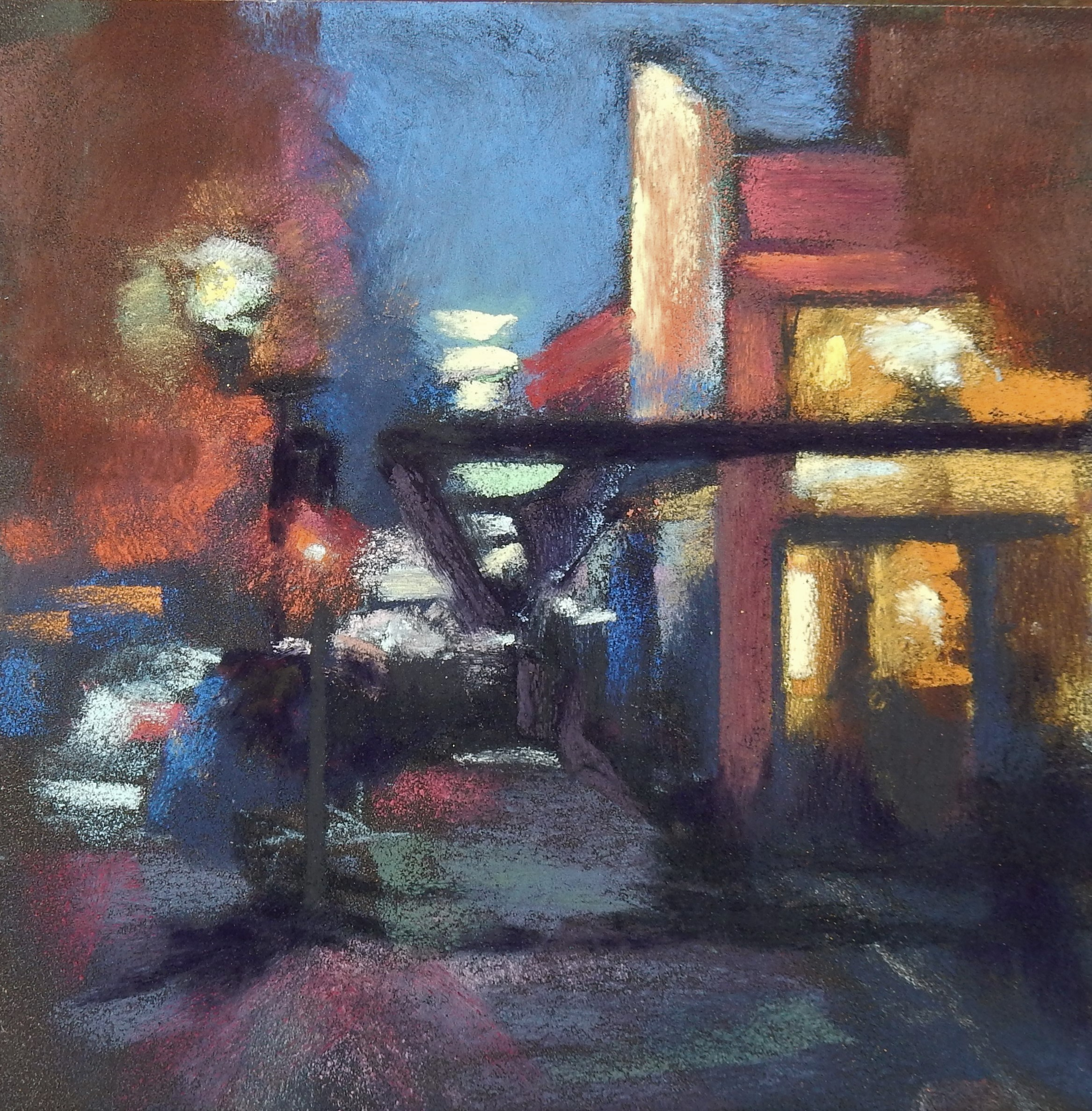 Out for Coffee - 6X6