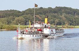 Schifffahrt Elbe