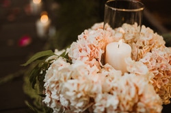 Glass Vases and Candles