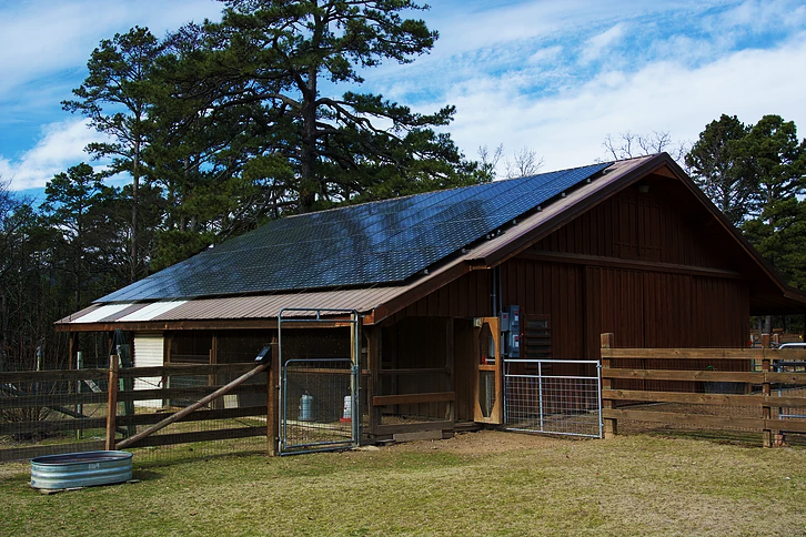 Solar Roof minimizes energy use