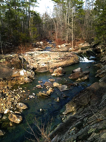 Waterfall on Little Cedar Creek