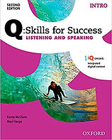 Book Cover for Q: Skills for Success Intro Listening and Speaking