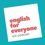 English for Everyone ESL Podcast Logo