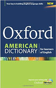 Book cover of the Oxford American Dictionary for Learners of English