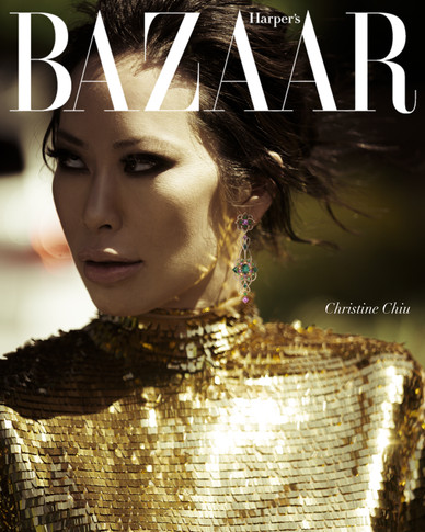Jacques Burga, Christine Chiu, Harper's Bazaar, Valentino, Haute Couture