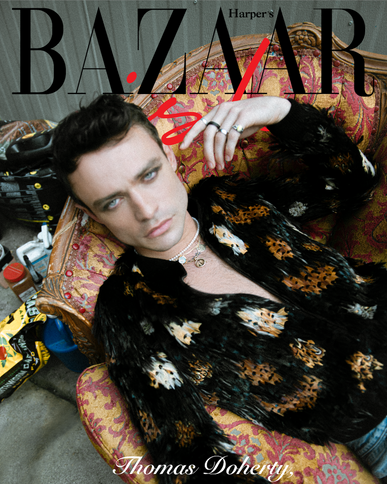 Jacques Burga, Thomas Doherty, Harper's Bazaar, YSL