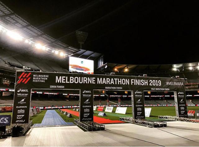 Melbourne Marathon 2019