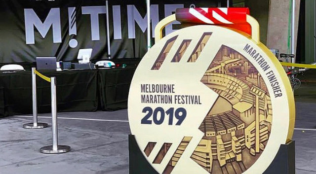 1.Melbourne Marathon 2019
