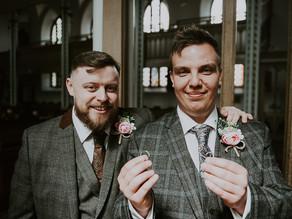 Natalie & Gavin's church wedding in Wigan