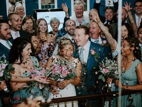 Mary & Johnathan's wedding at Manchester Hall
