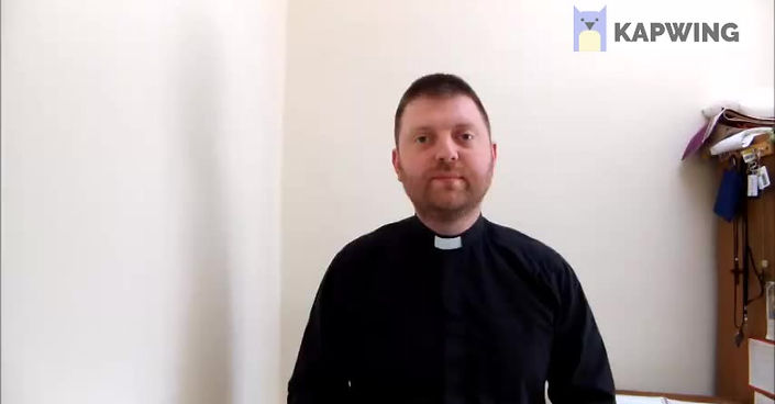 A message from Fr Adam Ransom