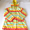 Thumbnail: Multicolored Striped Raincoat