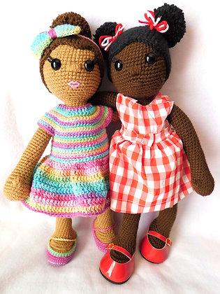 Bianca Doll Set Pattern (Digital Download)